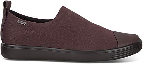 ECCO Damen Soft 5 Sneakers, Blau (50357true Navy/Poseidon-Black), 37 EU