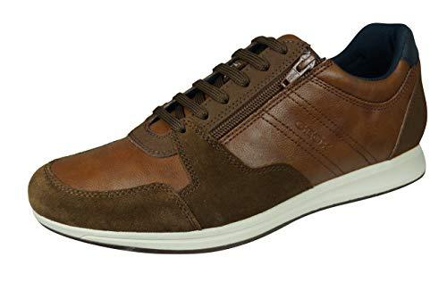 Geox U02H5B 000ME Herren Sneakers Cognac, EU 46