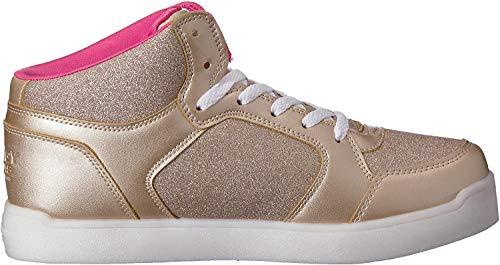 Skechers Kinder Skaterschuhe Sneaker Boots Nylon 10940L GLD Gold 525684