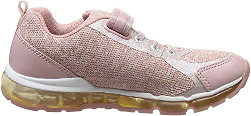 Geox Mädchen J Android Girl B Sneaker, Pink (Rose/White), 25 EU