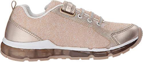 Geox Mädchen J Android Girl B Sneaker, Gold (Platinum/White), 24 EU