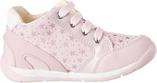 Geox Baby Mädchen B Each Girl C Sneaker, Pink (Pink C8004), 24 EU