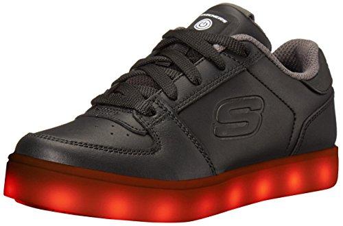 Skechers Jungen Energy Lights Elate Sneaker, Schwarz (Black), 32 EU