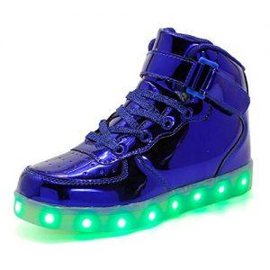 Sneaker mit Leuchtsohle