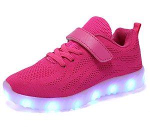 Pinke Leuchtschuhe
