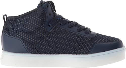 Skechers Jungen Energy Lights - Halation Hohe Sneaker, Blau (Nacy NVY), 34 EU