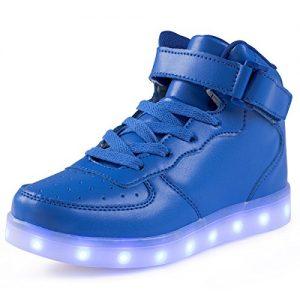 LED Schuhe blau