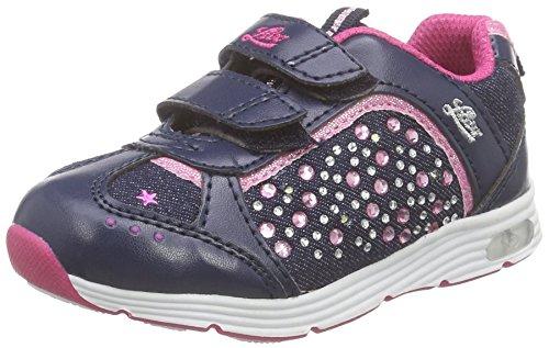 Lico Mädchen Shine V Blinky Sneakers, Marine/Pink, 23 EU